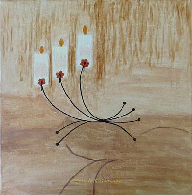 Art Print featuring the painting Illumination by Sonali Gangane