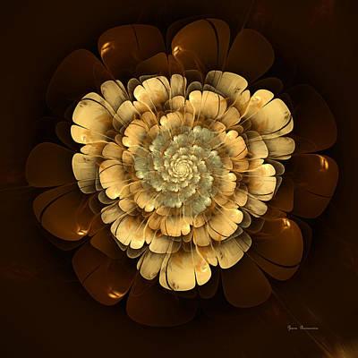 Abstract Movement Digital Art - Illusions Of Grandeur by Georgiana Romanovna