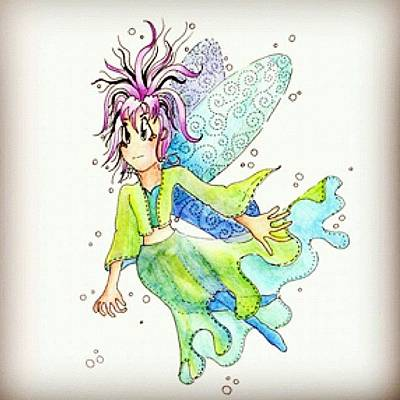 Fairy Photograph - Illustration by Lisa Catherwood