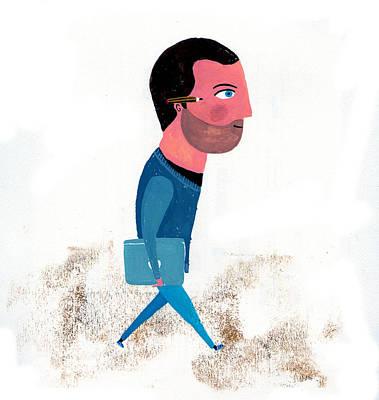 Barcelona Digital Art - Illustrator by Luciano Lozano