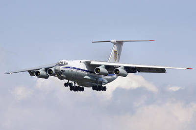 Photograph - Ilyushin Il-76md  by Tim Beach
