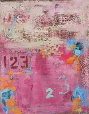 Maryann Painting - I'm Counting To 3 by MaryAnn Ceballos