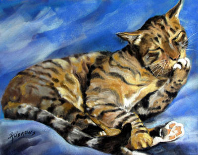 Art Print featuring the painting Im Not Hard Of Hearing I Am Ignoring You by Rae Andrews