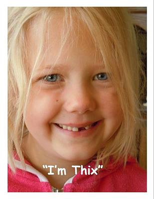 Photograph - I'm Thix by Dan Whittemore