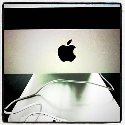 Iphone 4 Photograph - iMac by Shawn Doherty