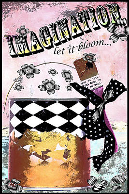 Surtex Licensing Mixed Media - Imagination by Anahi DeCanio
