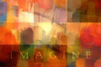 Mixed Media - Imagine by Lutz Baar
