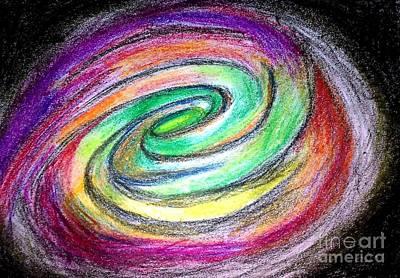 Painting - Imagine The Galaxy by Hari Om Prakash