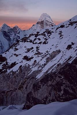 Nepal Scenes Photograph - Imja Tse High Camp by Pal Teravagimov Photography