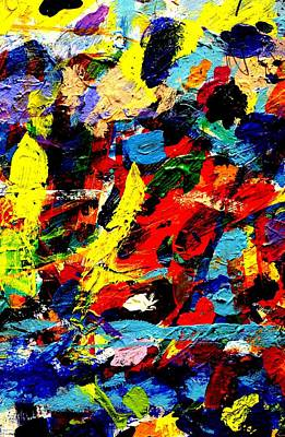 Abstract Expressionism Painting - Imma     62 by John  Nolan