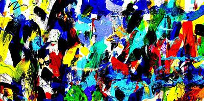 Abstract Expressionism Painting - Imma   59 by John  Nolan