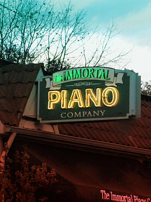 Photograph - Immortal Piano Co by Kathleen Grace