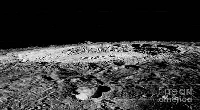 Impact Crater Copernicus Print by Nasa
