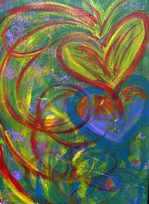 Painting - Impact Of Love by Bethany Stanko