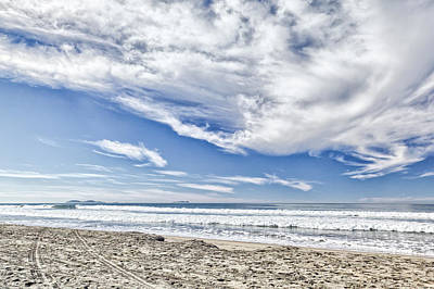 Photograph - Imperial Beach 1 by Peter Dyke