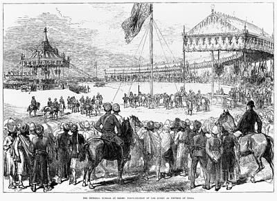 Raj Photograph - Imperial Durbar, 1877 by Granger