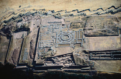 Installation Art Photograph - Imposing Incan Fortress Of Sacsayhuaman by Bobby Haas