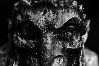 Photograph - Impressions Of A Gargoyle by Nicholas Evans