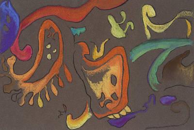 Improv Art Print by Vianne Korhorn