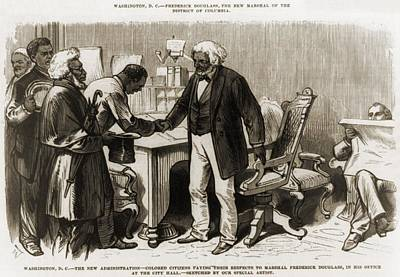 In 1877 Frederick Douglass 1818�1895 Art Print