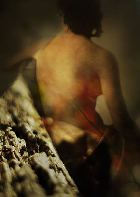 Pagan Nude Photograph - In A Forest Fane by Rebecca Sherman