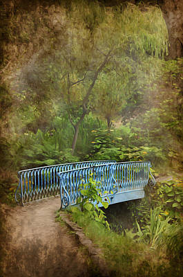 Park Scene Digital Art - In A Garden by Svetlana Sewell