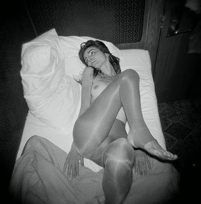 Photograph - In Bed by J C