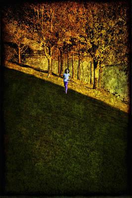 In Between Art Print by Anna Yanev