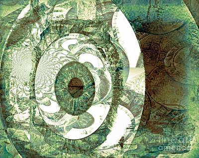 In God We Trust Art Print by Fania Simon