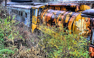 Industrial Decay Photograph - In Her Day by JC Findley