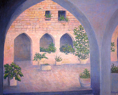 Painting - In Jerusalem by Lou Ann Bagnall