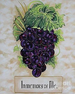 In Memory Of Me Art Print by Kimberlee  Ketterman Edgar