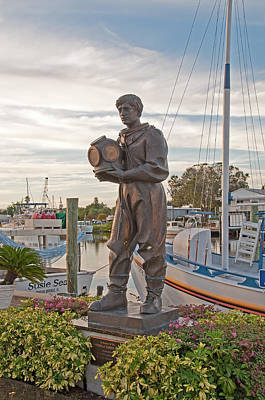 Photograph - In Memory Of The Spongers Of Tarpon Springs by John Black