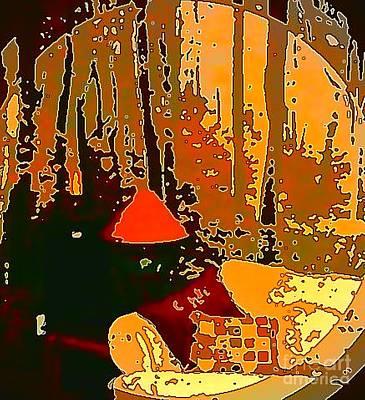 Digital Art - In My Own Little Corner by Angela L Walker