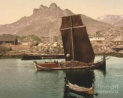 In Nordlandsbaad Art Print by Padre Art