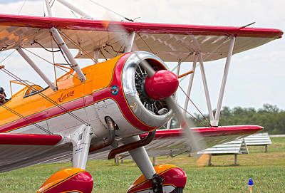 Bi Planes Photograph - In Plane View by Betsy Knapp