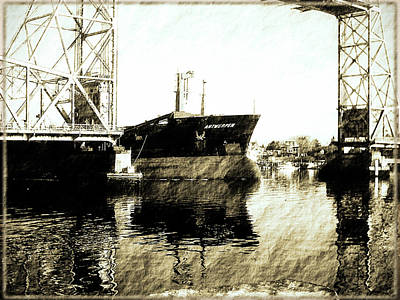 Photograph - In Portsmouth Harbor by Marie Jamieson