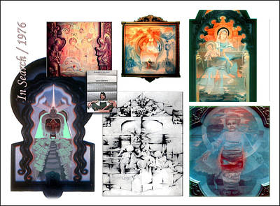 Digital Art - In Search Of The Divine2 1976 by Glenn Bautista