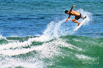 Surfer Photograph - In The Air by Paul Topp