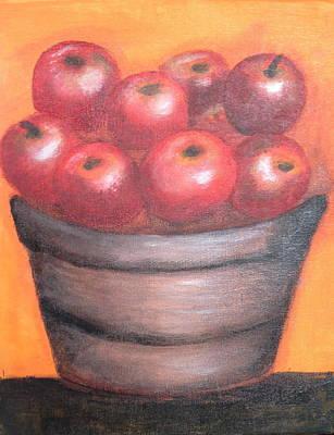 In The Bucket Art Print