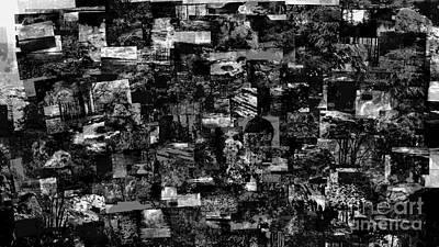 Digital Art - In The Dark by Pauli Hyvonen