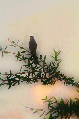 Mockingbird Digital Art - In The Eastern Manner by Mike Darrah