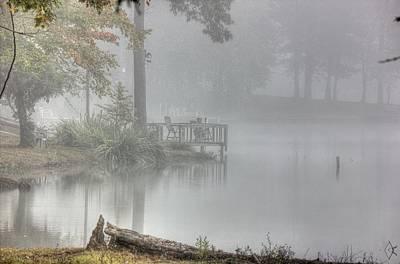 In The Fog Art Print by Barry Jones