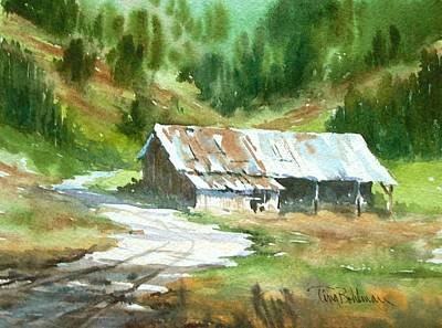 Painting - In The Foothills by Tina Bohlman