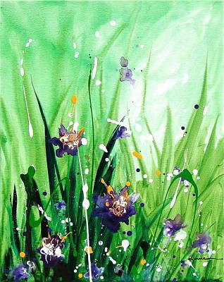 In The Garden V Art Print by Kume Bryant