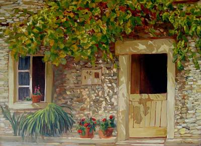 Painting - In The Heat Of The Day by Liliane Fournier