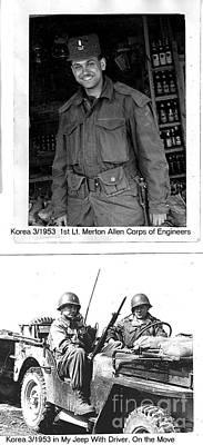 Photograph - In The Korean War Mar 1953 That's Me by Merton Allen