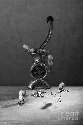 Comical Photograph - In The Meat Grinder 02 by Nailia Schwarz