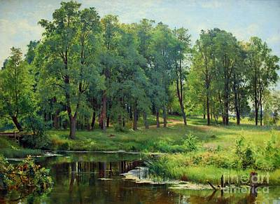 Painting - In The Park by Pg Reproductions