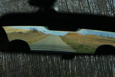 In The Rear View Art Print by Ellery Russell
